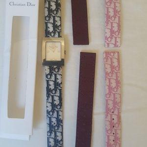 Vintage Christian Dior watch